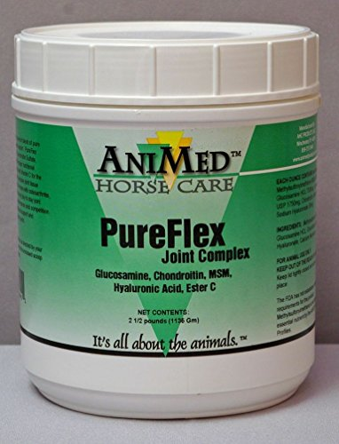ANIMED 2.5 lb PureFlex Joint Complex for Aging Horses with Arthritis or Horses with Joint Stress by AniMed (Image #1)
