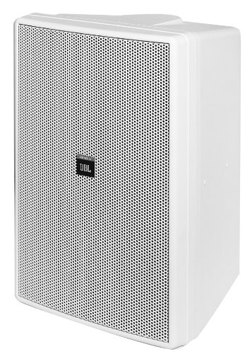 JBL CONTROL 30-WH Three-Way High Output Indoor/Outdoor Monitor Speaker, White ()