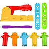 Kare & Kind® Set of 9 pcs Smart Dough Tools Kit with Extruder Machine / Extruder Tools (Extruder Machine + Extruder Tools)