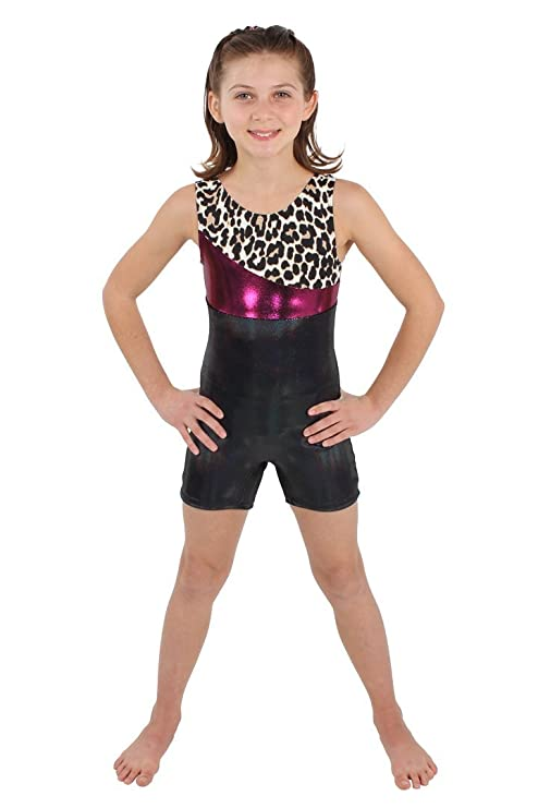 14cfa87c1 Amazon.com : Flip N Fit Fuchsia Cheetah Tank Unitard : Sports & Outdoors