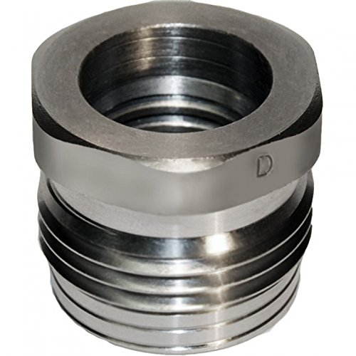 JL-BRAND 1-Inch 8TPI Thread Chuck Insert/Adaptor for Ref - IDNS - 101234 (1-Inch 8TPI) for NOVA lathe chuck ()
