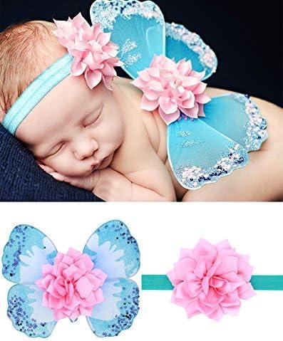 UGUAX - Disfraz de alas de Mariposa para bebé recién Nacido ...