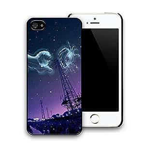 Iphone 5 cases Petrel cartoon dark city night tough hard plastic phone cases for iPhone 5/5s