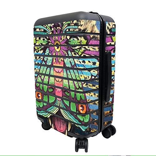 MightySkins Skin for Away The Carry-On Suitcase - Jaguar Moth | Protective, Durable, and Unique Vinyl Decal wrap Cover | Easy to Apply, Remove, and Change Styles | Made in The USA