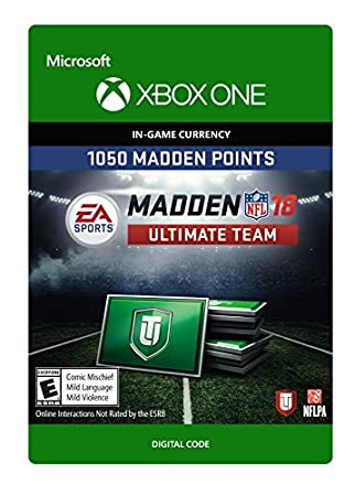 Madden NFL 18: MUT 1050 Madden Points Pack - Xbox One [Digital Code]
