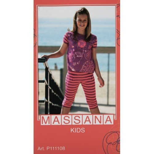 CAL FUSTER - Pijama Massana de Verano Niña Talla 16