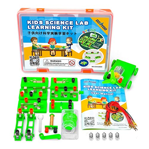 - OSOYOO Science Learning kit,Electricity and Magnetism Experiment Set,Building Circuits,for Students in Grades 3-9