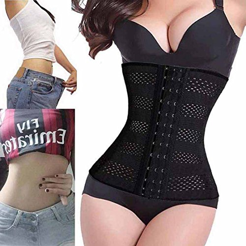 Ursexyly Mesh Cincher, Waist Trainer Fat Burner for Women Sexy Fingure S-6XL free shipping