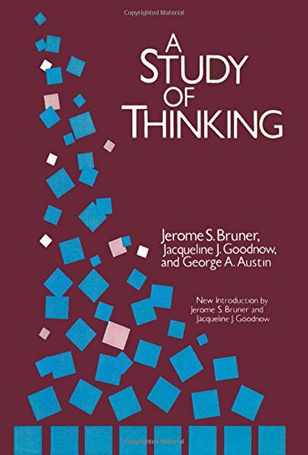 A Study of Thinking (Social Science Classics Series)