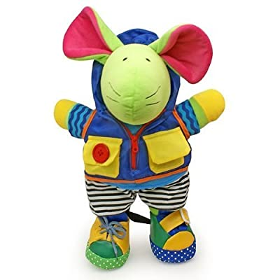 Squeak E. Mouse Learn to Dress Doll : Baby Touch And Feel Toys : Baby