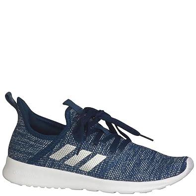 adidas Women's Cloudfoam Pure Running Shoes Tech SteelSilver MetallicGrey One