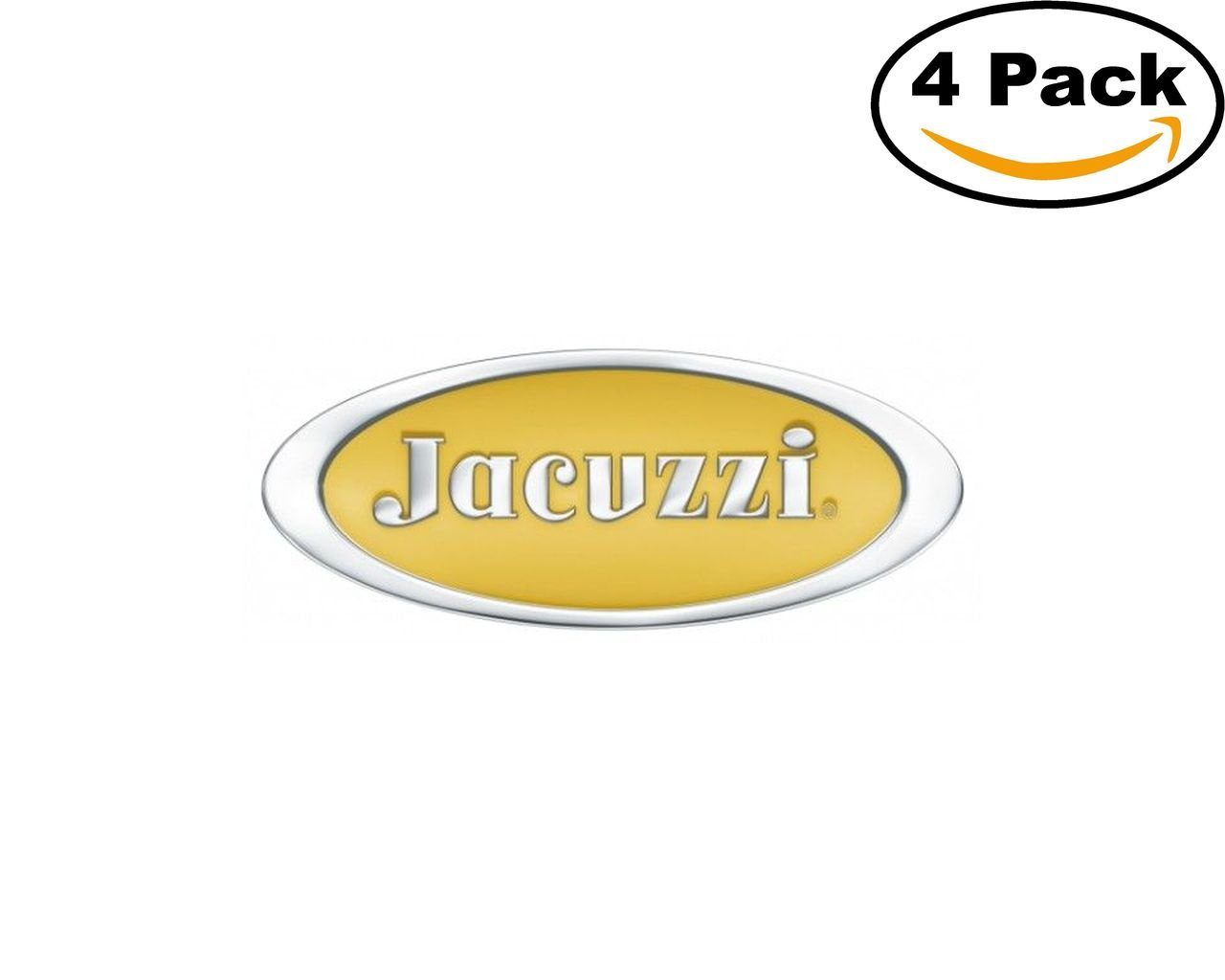 Amazon.com: Construction Jacuzzi Logo 4 Stickers 4X4 Inches Car ...