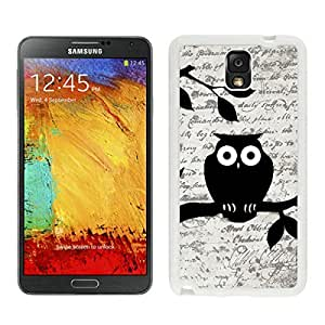 BINGO good review Owl On Vintage Paper Samsung Galaxy Note 3 Case White Cover by icecream design