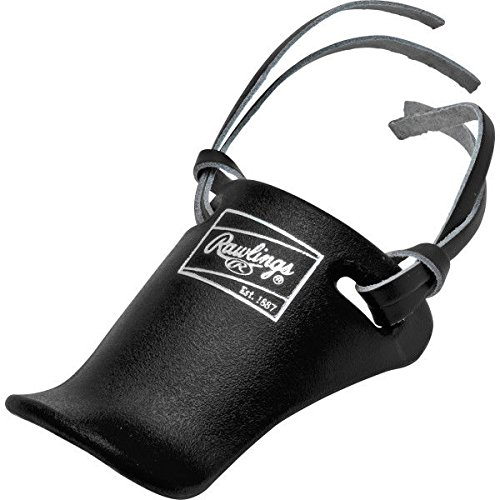 (Rawlings TP4 Catcher's Helmet Throat Guard (Black))