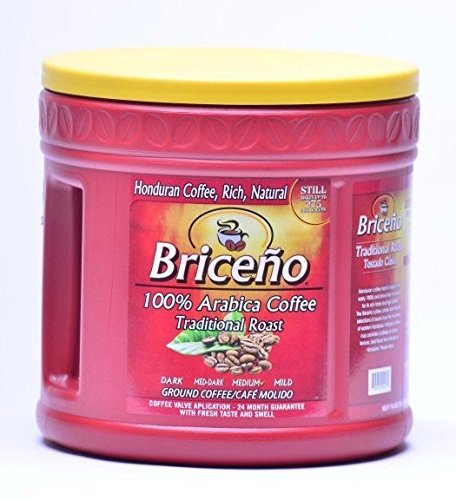 DELICIOUS Briceño Coffee Traditional (2LB) - 100% HONDURAN Latin Pure Coffee