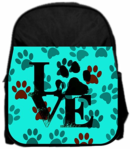 Pawprints Love Lea Elliot Tm Preschool Backpack And Pencil Case Set