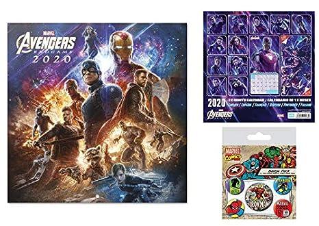 Amazon.com: Set: The Avengers, Endgame Official 2020 ...