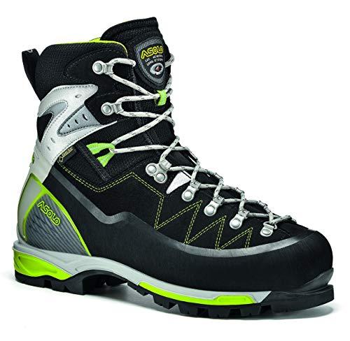 Asolo Alta Via GV Mountaineering Boot - Men's - 11 - Black/Green ()
