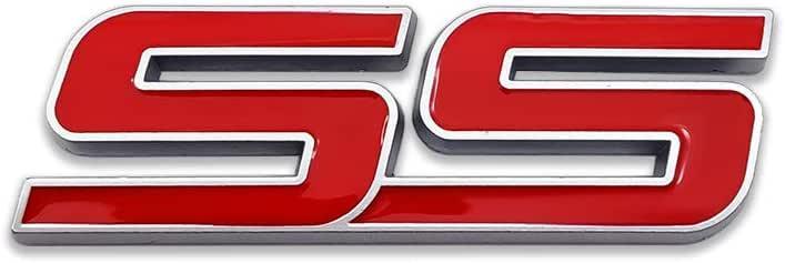 AxleZx Chrome Metal Camaro Logo Car Emblem Letters Badge Racing Sport Sticker Turbo Decal for Camaro Black