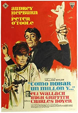 How to steal a million movie Decoration Poster.Graphic Art Interior design.3673