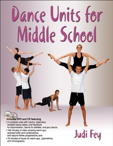 Dance Units for Middle School by Human Kinetics