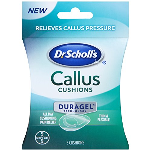Dr. Scholl's Callus Cushion with Duragel Technology, 5ct // Provides All-Day Cushioning Pain Relief and Relieves Callus Pressure ()