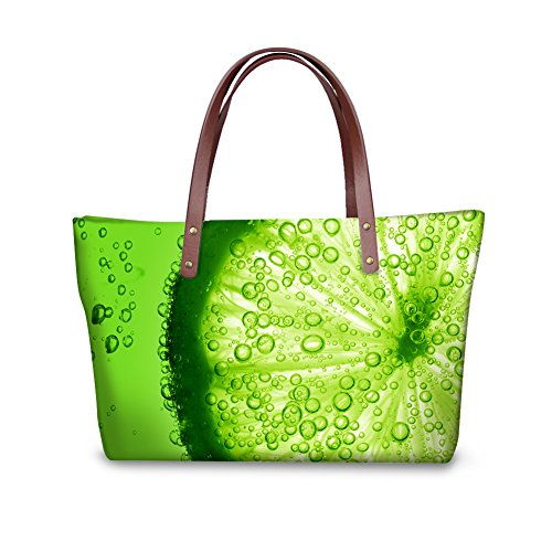 Casual W8ccc4282al Fruit Print Bages Women Handbags FancyPrint Tote fSqZZw