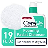 CeraVe Foaming Facial Cleanser | 19 Fl Oz | Daily