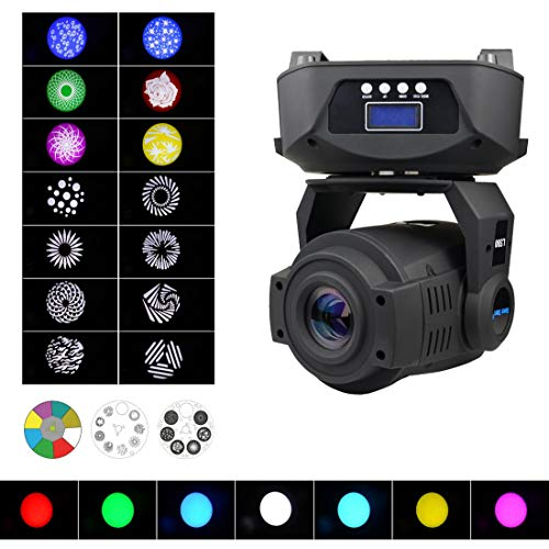 - Moving Head Spot Beam Light, 150W DMX512 DJ Stage Lighting Sound Activated,Master-slave, Auto Running for Stage,Wedding,Concert,Party,Bar,Disco and More Performance Places