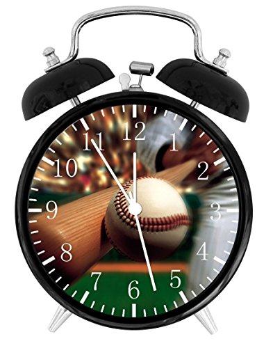 Baseball Alarm Desk Clock Home Office Decor F151 Nice For Gifts