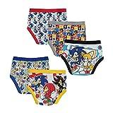 Sonic The Hedgehog Boys' Little 5pk Boxer, Sonic