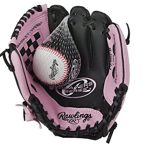 Rawlings Girls' Players Series 9-Inch Tee Ball Glove Right Hand Throw by Rawlings