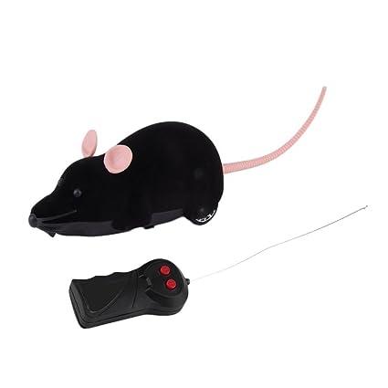 YCDC - Ratón inalámbrico de Control Remoto, plástico, Juguete de simulación de Animales,