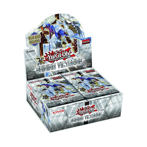 Yu-Gi-Oh! - Shining Victories Booster Box sealed 24 PACKS by Yu-Gi-Oh!