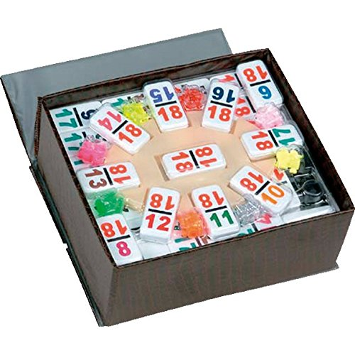 CHH Double 18 Professional Sized Mexican Train Dominoe Set by CHH
