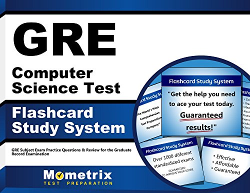 GRE Computer Science Test Flashcard Study System: GRE Subject Exam Practice Questions & Review for the Graduate Record Examination (Cards)