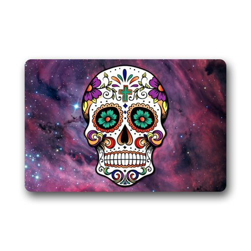 sugar skull door mat - 8