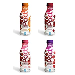Ocean Spray Pact Cranberry Infused Water 12 Bottles (4 Flavor Variety Pack)