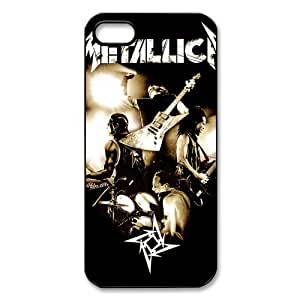 CTSLR Band Metallica Protective Hard Skin for Case For Ipod Touch 4 Cover - 1 Pack - Black/White - 5