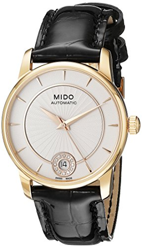 Mido Women's MIDO-M0072073603600 Baroncelli Analog Display Swiss Automatic Black Watch