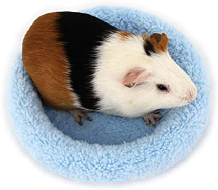 size small Fleece tube sleeping bed for birds rats and mice
