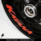 Suzuki Katana Motorcycle Inner Rim Sticker Stripe RY