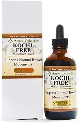 Kocci Free – All-Natural Anti-Parasitic for Pets 4 oz by Amber Technology