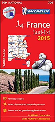 Lire Carte France Sud-Est 2015 Michelin epub, pdf
