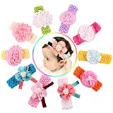 Best QandSweet Clothing For Boys - Qandsweet Baby Girl's Beautiful Headbands (10 Pack) Review