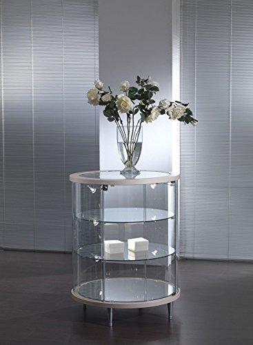 Vitrine Standvitrine Langsame Showcase Werkbank Glas Shop Haus mit Beleuchtung