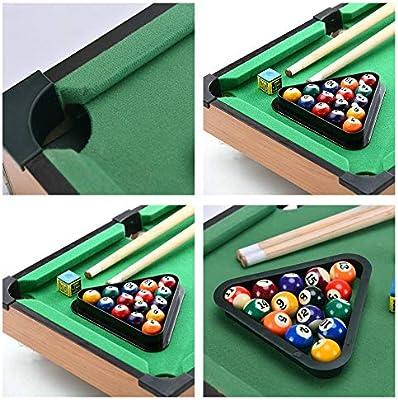Sarahjers-Game Juegos de Mesa Mini Mesa de Billar portátil de Mesa ...