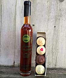 Heringer Estates Late Harvest Chardonnay and Chocolate Truffle Bundle