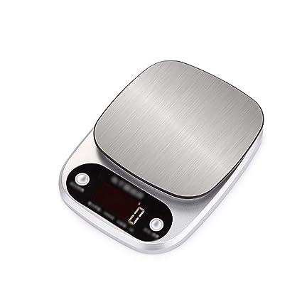 XF Básculas Digitales Báscula de Cocina - Batería Modelo Bicarbonato de Cocina Báscula para Alimentos 0.1