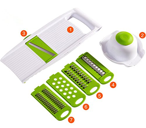 qhome-multi-function-dicer-chopper-shredder-vegetable-cutting-dicing-slicing-kitchen-tools-5-pieces